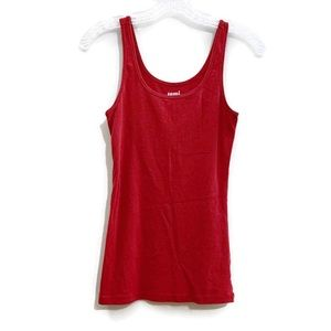 OLD NAVY Tami Fitted Tank Top in Red Size S EUC